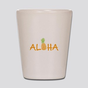 Aloha Pineapple Shot Glass