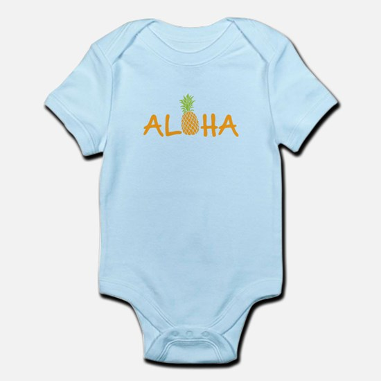 Aloha Pineapple Body Suit