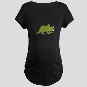 Triceratops Maternity T-Shirt