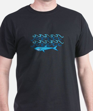Shark Waves T-Shirt