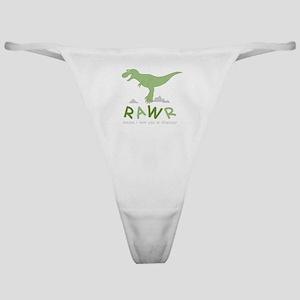 Dinosaur Rawr Classic Thong