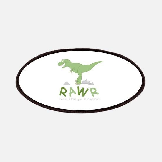 Dinosaur Rawr Patch