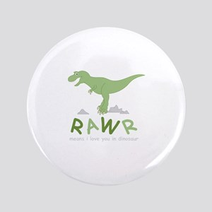 Dinosaur Rawr Button