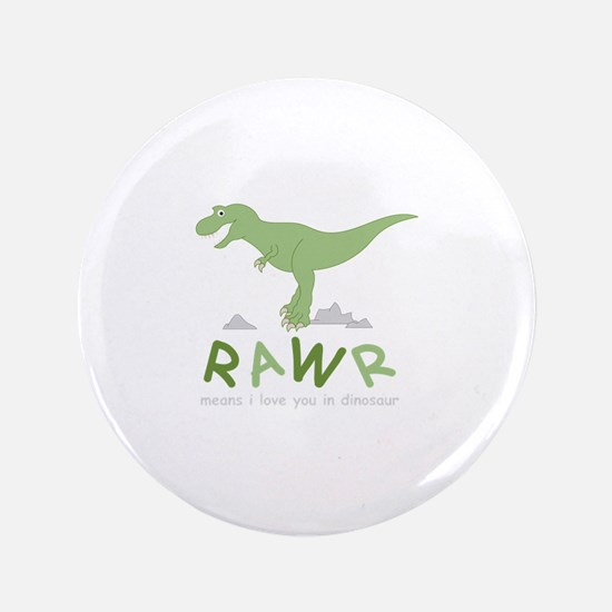 Dinosaur Rawr Button