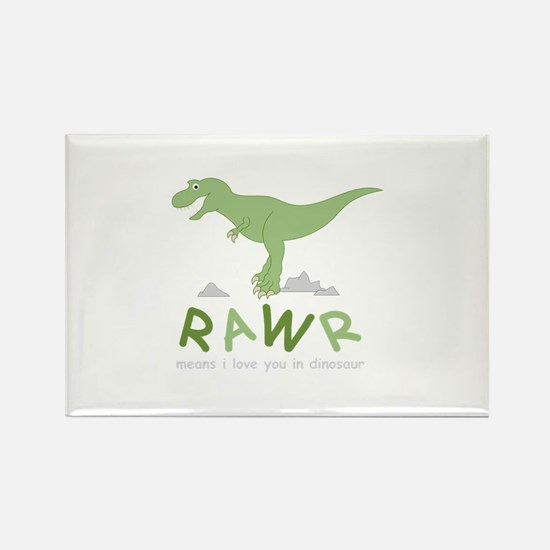 Dinosaur Rawr Magnets