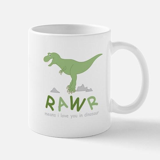 Dinosaur Rawr Mugs