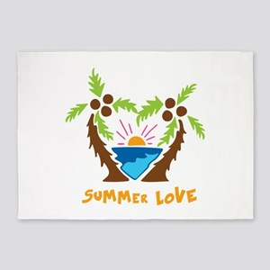 Summer Love 5'x7'Area Rug