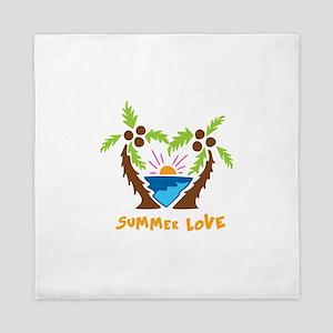 Summer Love Queen Duvet