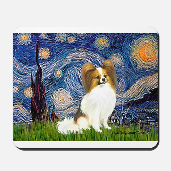 Starry Night Papillon (f) Mousepad