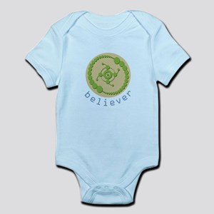 Crop Circle Believer Body Suit