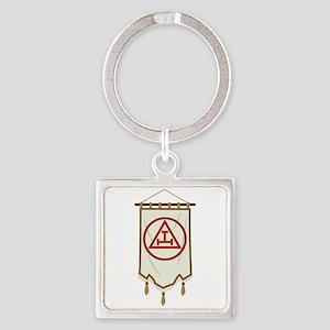 Royal Arch Freemason Banner Keychains