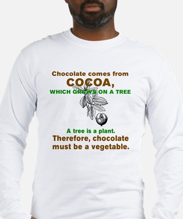 Unique Chocolate Long Sleeve T-Shirt