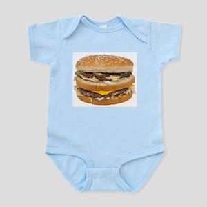 Double Cheeseburger Infant Bodysuit