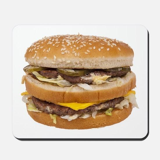 Double Cheeseburger Mousepad