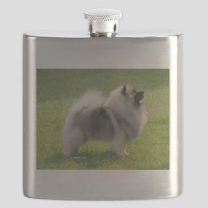 Keeshond Flask
