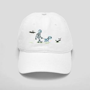 skeleton walking with pets Cap