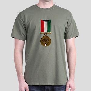 Kuwait Liberation Medal Dark T-Shirt