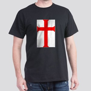 Red Cross/White Background T-Shirt