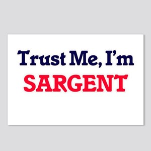 Trust Me, I'm Sargent Postcards (Package of 8)
