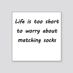 Matching socks Sticker