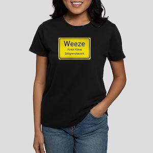 Weeze Sign Women's Dark T-Shirt