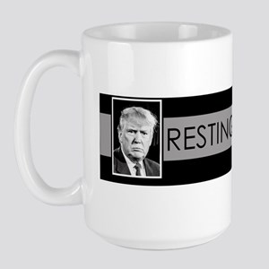 Trump: Resting Dick Face Large Mug