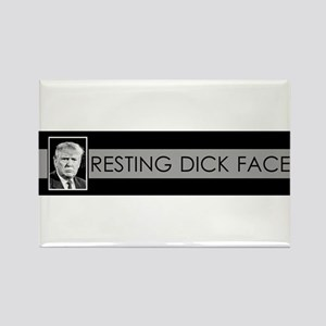 Trump: Resting Dick Face Magnets
