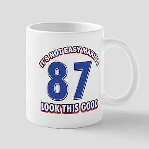 87th birthday design Mugs