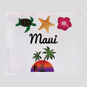 Maui Throw Blanket