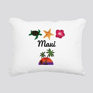 Maui Rectangular Canvas Pillow