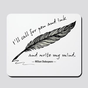 Write My Mind Mousepad