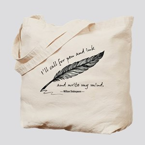 Write My Mind Tote Bag