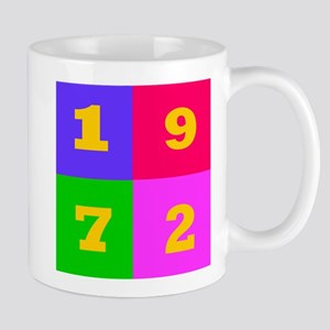 1972 Years Designs Mug