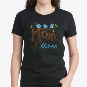 Mom Of Three (birds) T-Shirt