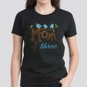 Mom Of Three (birds) T-Shirt