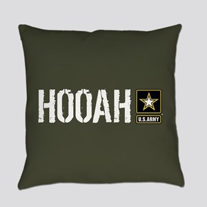 U.S. Army: Hooah (Military Green) Everyday Pillow