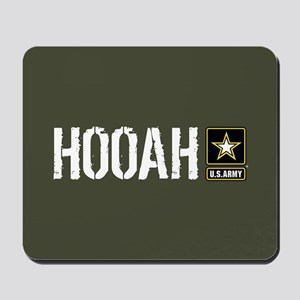 U.S. Army: Hooah (Military Green) Mousepad