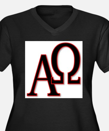Alpha and Omega Plus Size T-Shirt