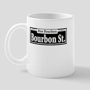 Bourbon St. Sign Mug