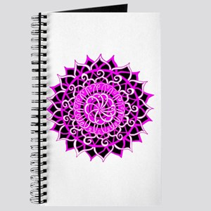 Sunburst Mandala 1 Journal