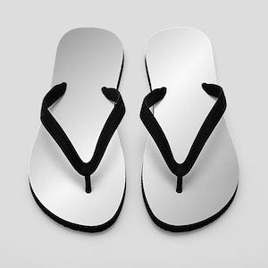 e06979e58f42 Silver Flip Flops - CafePress