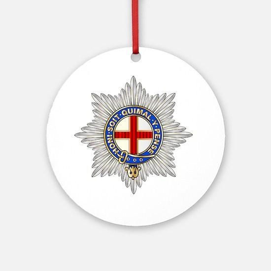 Unique Cavalry Round Ornament