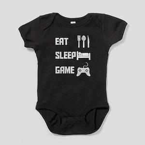 Eat Sleep Game Baby Bodysuit