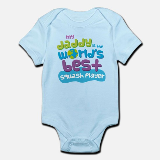 Squash Player Gifts for Kids Infant Bodysuit