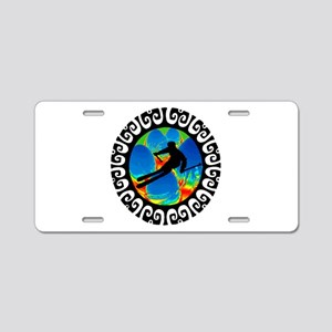 SKI Aluminum License Plate