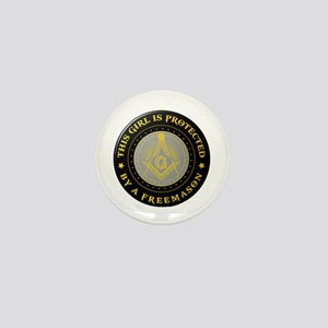 Protected by Freemason Mini Button