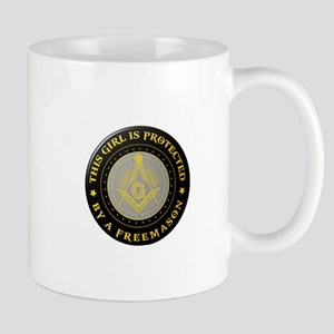 Protected by Freemason Mugs