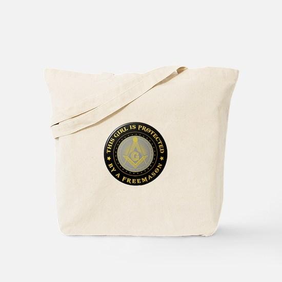 Protected by Freemason Tote Bag