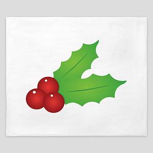 Christmas Holly King Duvet