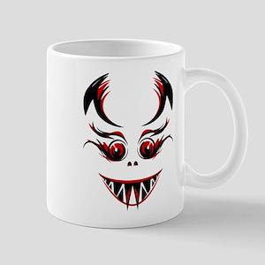 Devil face Mugs